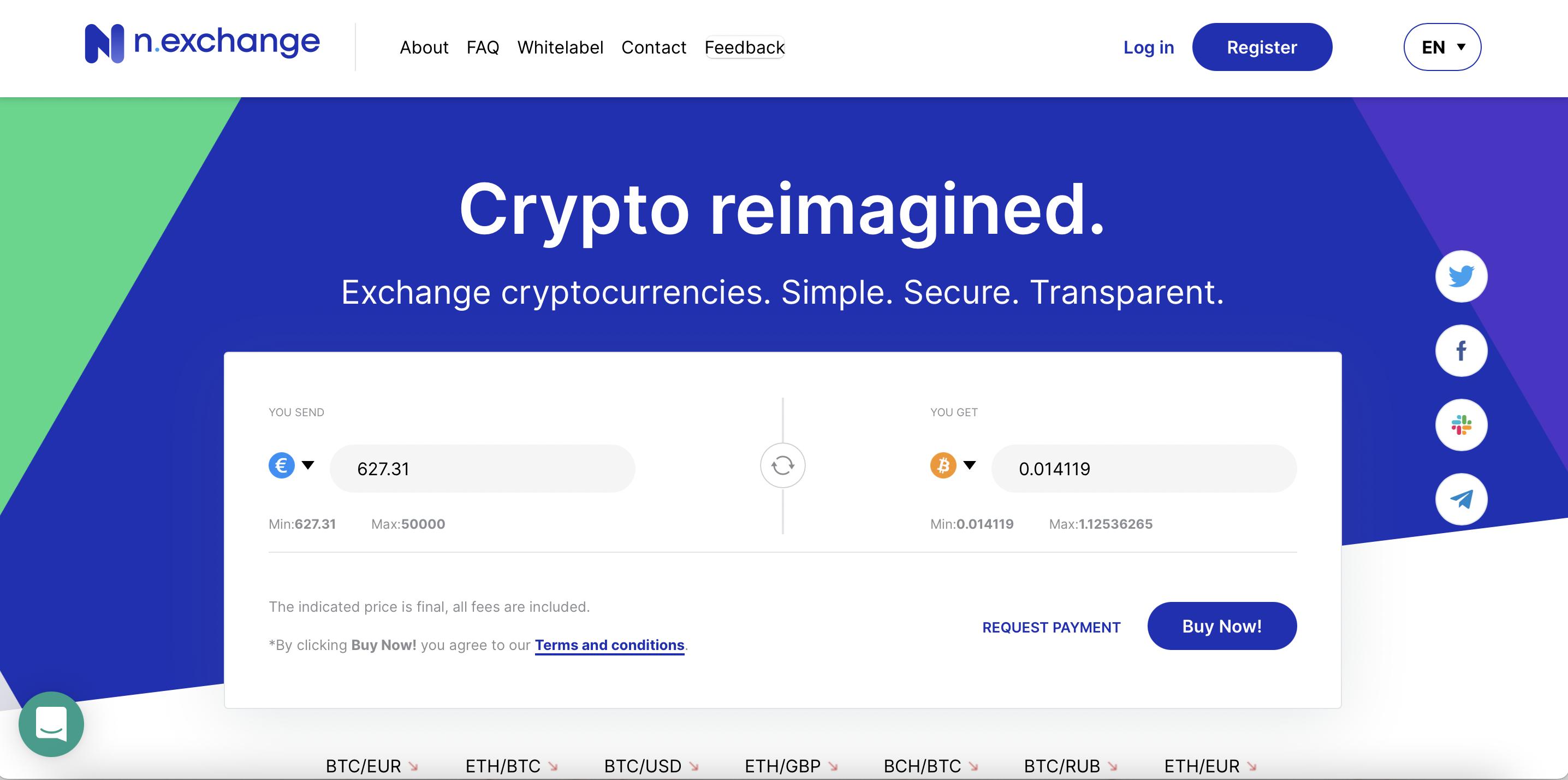 n.exchange screenshot