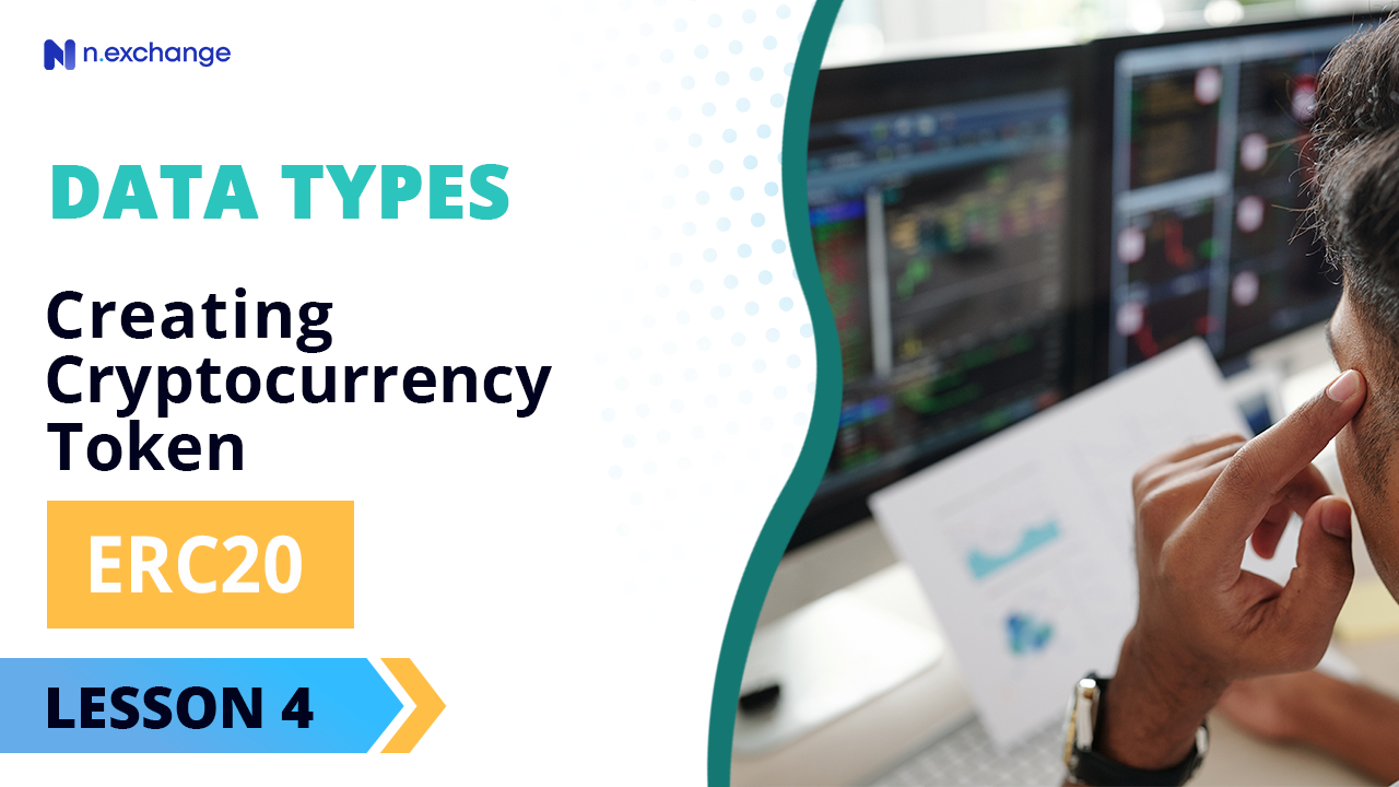 data types to cryptocurrency token creation